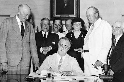 FDR The Social Security Act 704x552