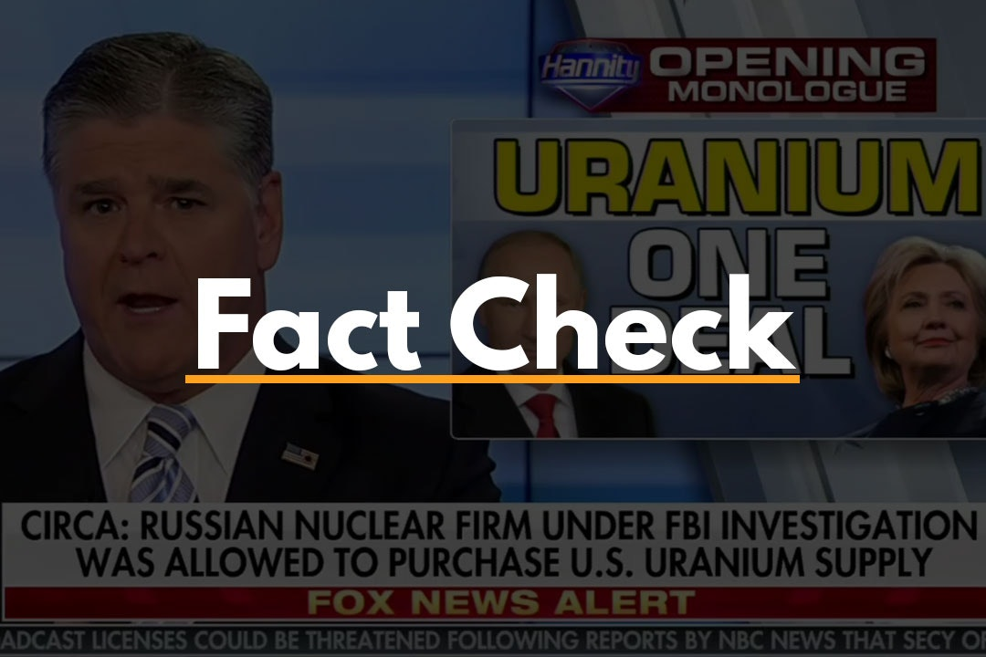 Uranium One Fact Check