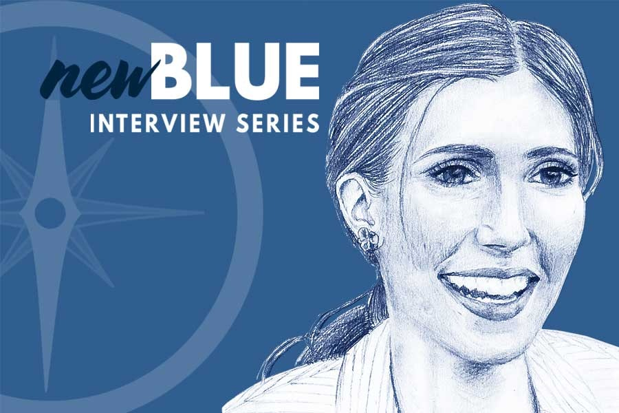 New Blue Liz Brown Feature
