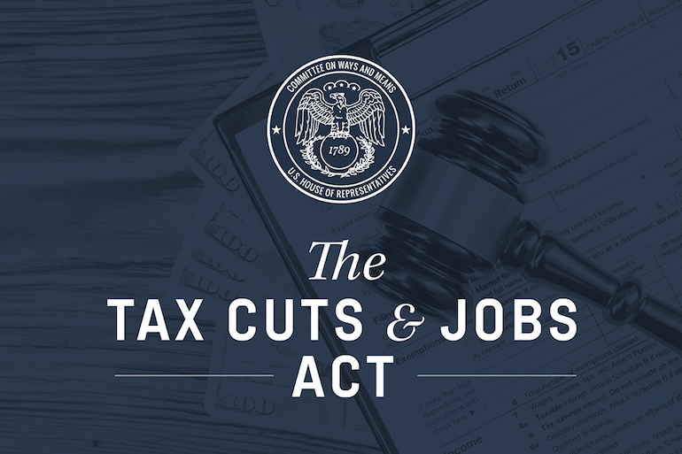 Tax Cuts And Jobs Act Header