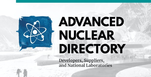 Get to Know an Industry, with the Advanced Nuclear Directory