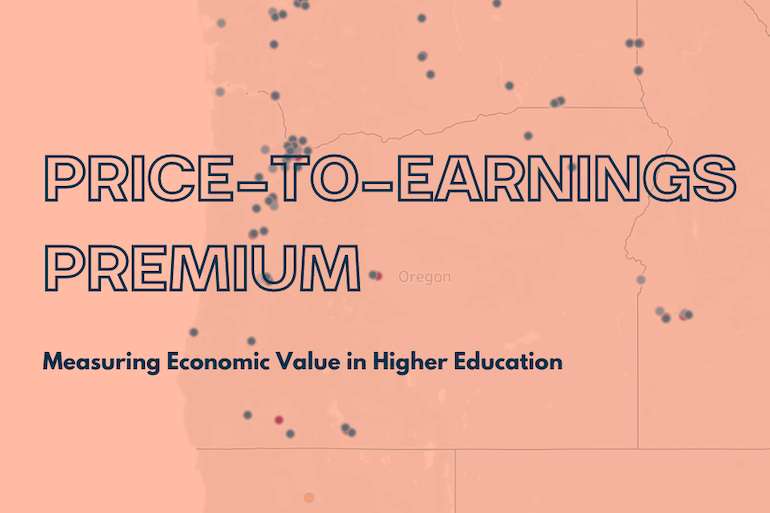 PRICE TO EARNINGS PREMIUM General Visualization Header