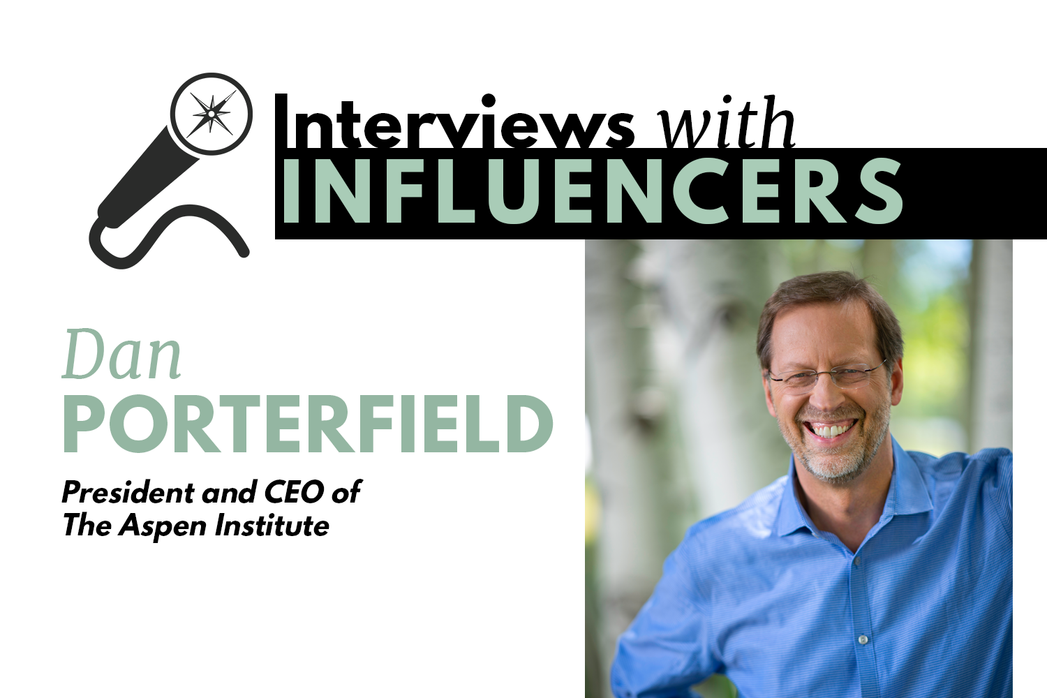 Interviews With Influencers Header