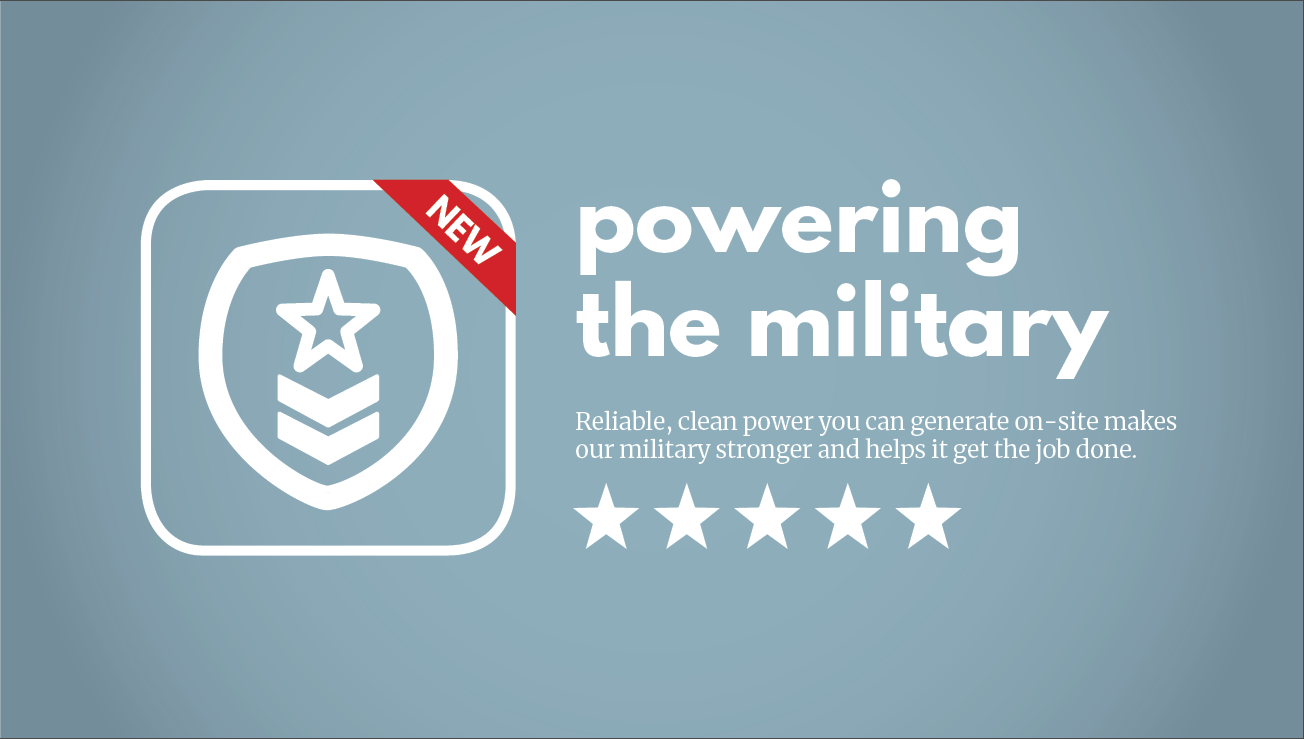 Powering The Militaty Product Hero