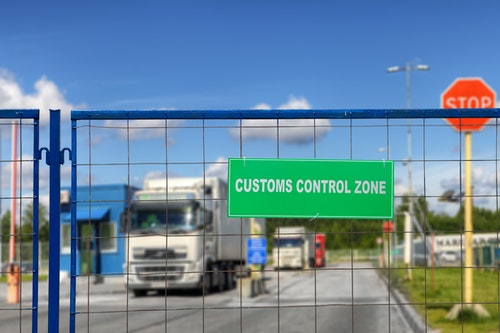 Customs Truck Shutterstock 757617142