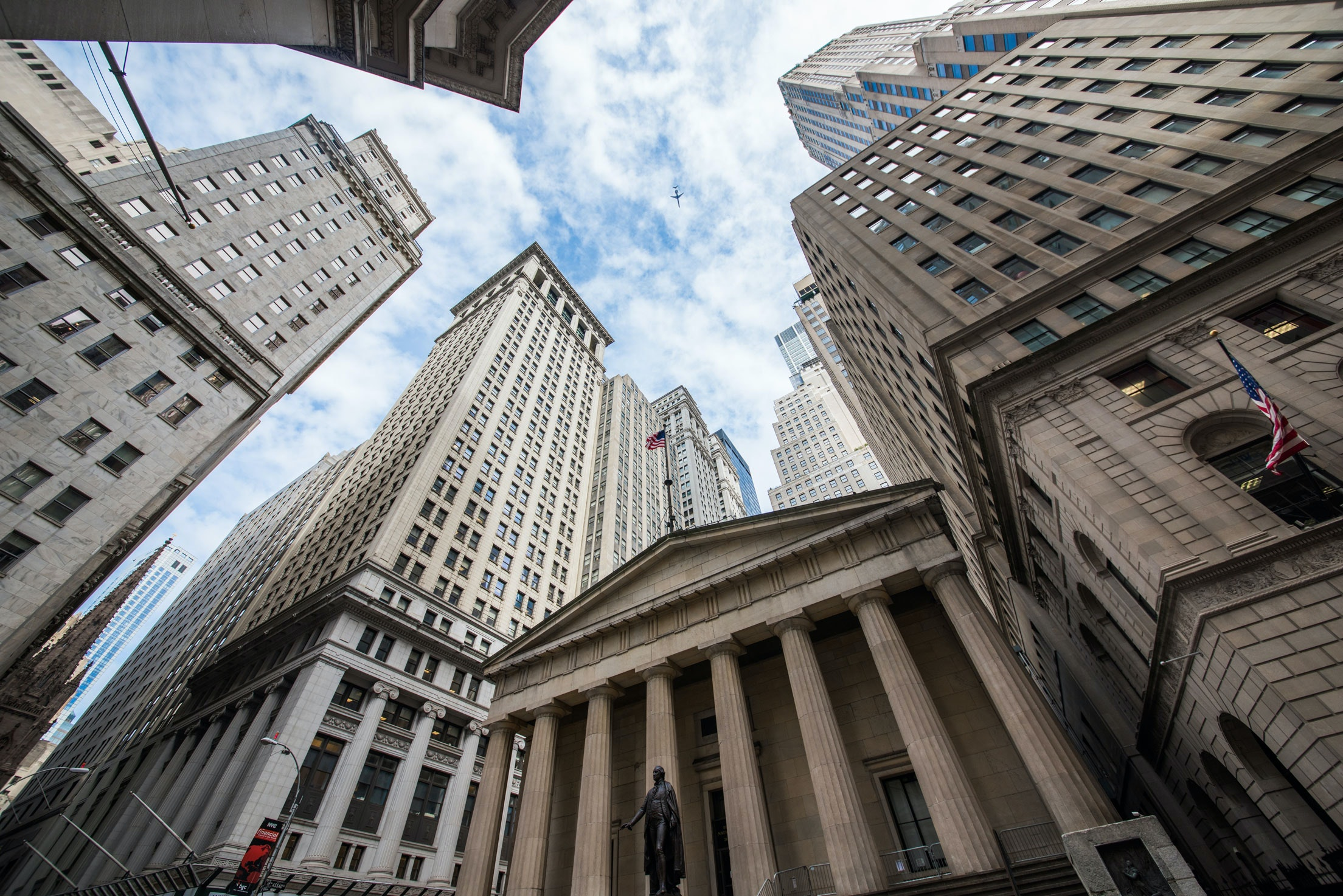 Wall Street Financial District Sm Shutterstock 225380569