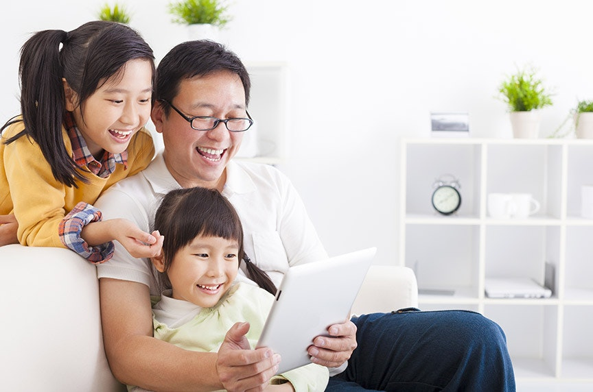 Asian American Family Web
